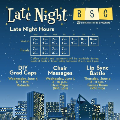 Late Night at the BSC