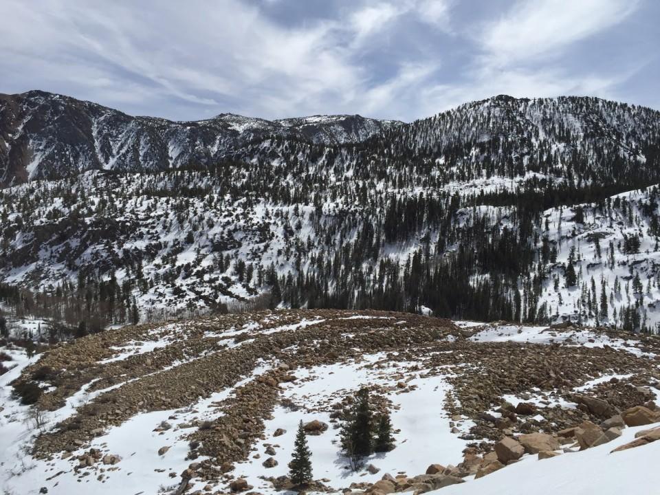 Piute Crags mountain