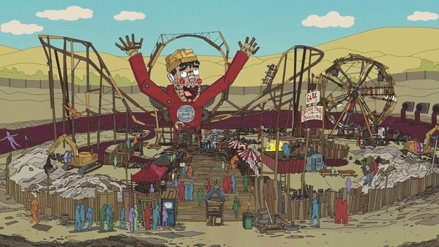 Todd's self-made amusement park