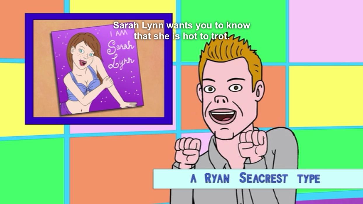 BoJack's A Ryan Seacrest Type