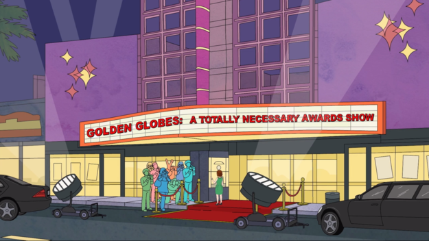 BoJack mocking Golden Globes as unnecessary
