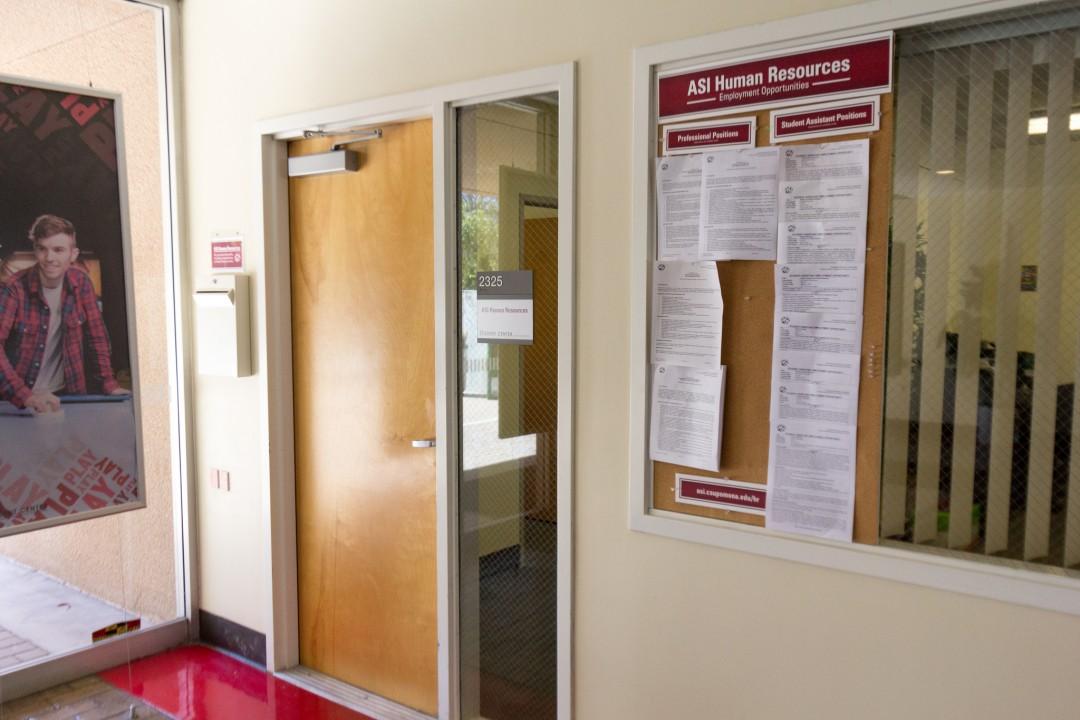 ASI HR front door with job bulletin