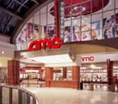 Photo of the entrance of an AMC theatre