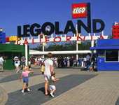 Photo of the entrance of Legoland