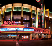 Photo of the entrance of a Regal Entertainment theatre