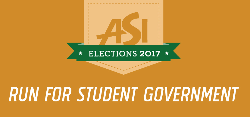 ASI Elections 2017 Run for student government
