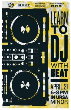 Learn to DJ with BEAT @ Ursa Minor (Bldg. 35-2135)
