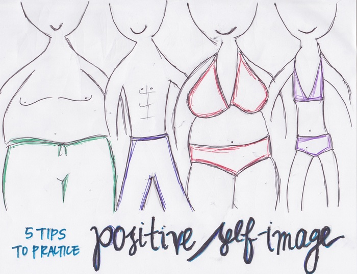 5 Tips to Practice Positive Self-Image This Bathing-Suit Season