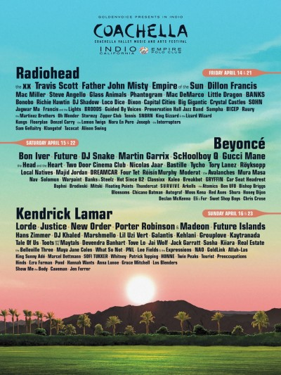 How We Really Feel About Coachella 2017's Lineup