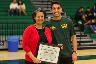 Athletics Department Honors ASI's Jessica Martinez