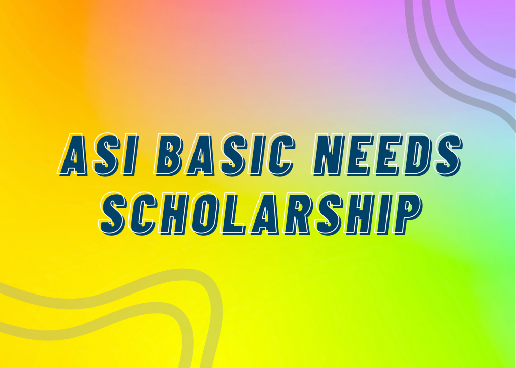 ASI Basic Needs Scholarship Eases Financial Burden For 46 Students