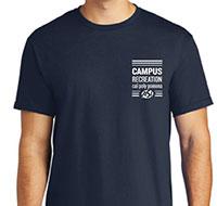 Campus Recreation dark blue shirt
