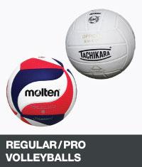 Regular/Pro volleyballs