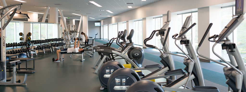 Ellipticals and free weights at the BRIC