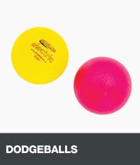 Two dodgeballs