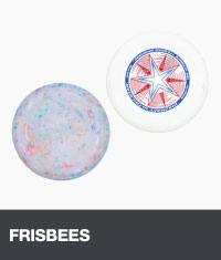 Two frisbees