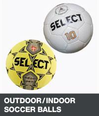 Outdoor/indoor soccer balls
