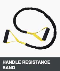 Handle resistance band