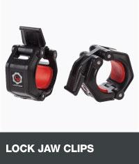 Lock jaw clips
