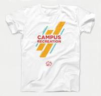 White ASI Campus Recreation shirt