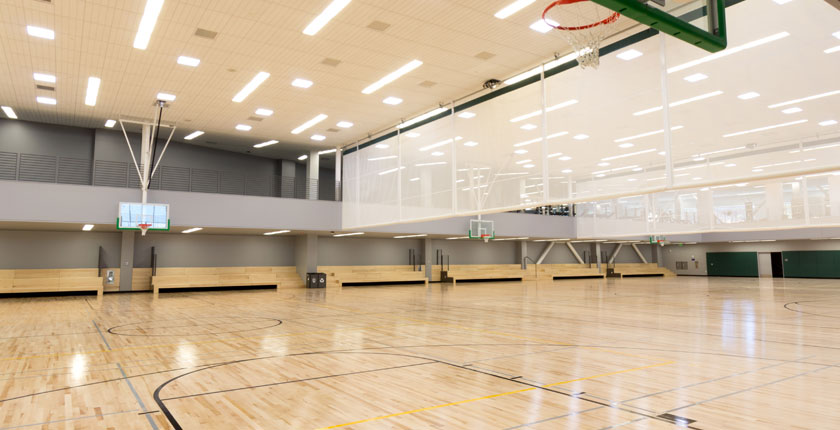 BRIC basketball courts