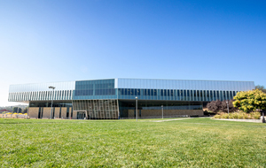 Front of the Bronco Recreation and Intramural Complex.