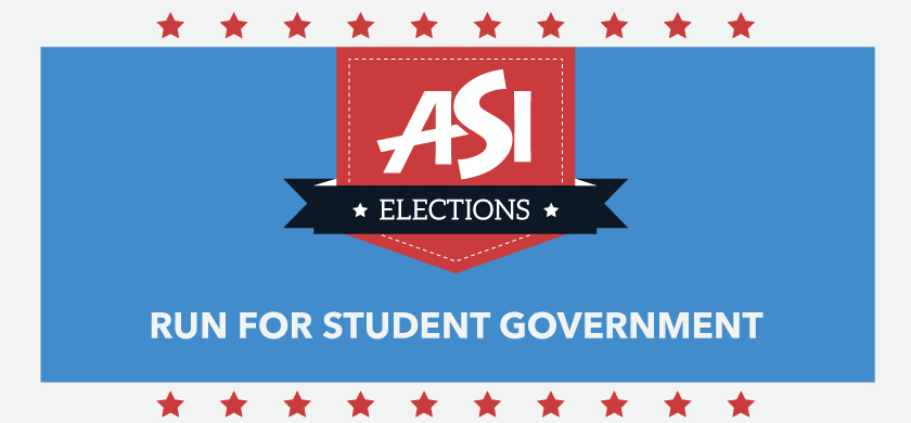 ASI Elections 2018 Run for student government
