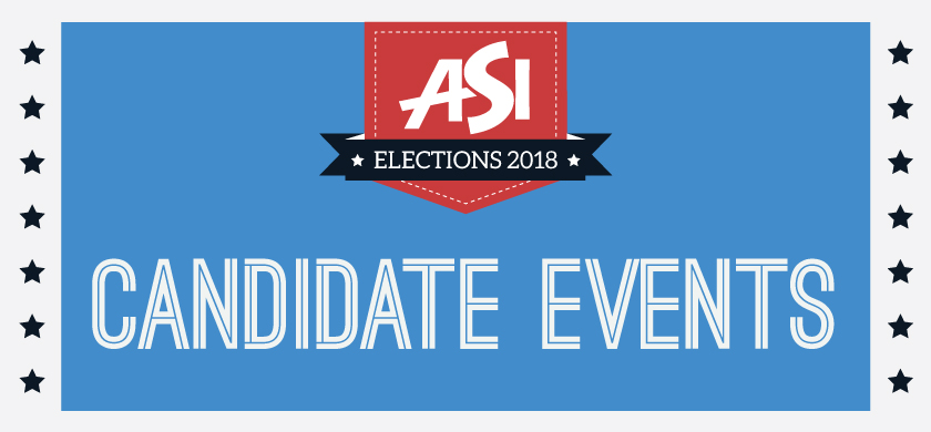 ASI Elections 2018 Candidate Events
