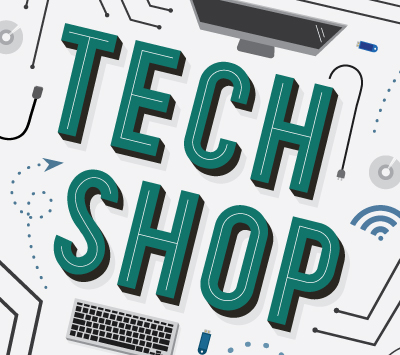 Tech Shop artwork