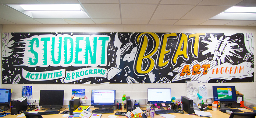 Beat Wall Mural