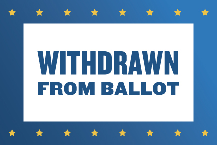Withdrawn From Ballot